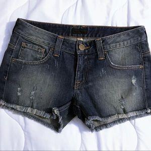 Bebe Raw Edge Shorts